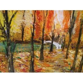 Obraz - Jesenná prechádzka - Bc. Helena Vožňáková