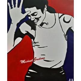 Obraz - Akryl - Michael Jackson POP-ART - Bejdová Sara