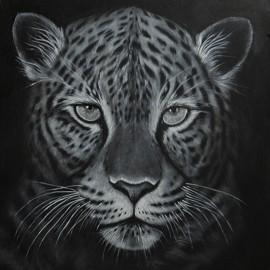 Obraz - Akryl- Leopard - Florková Katarína