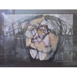 Obraz - Frotáž- Abstrakt č.5- Artdiela obrazy
