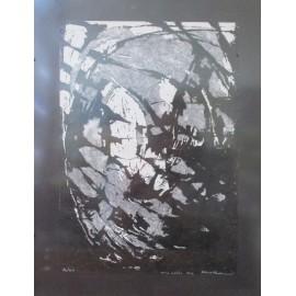 Obraz - Frotáž- Abstrakt č.1- Artdiela obrazy
