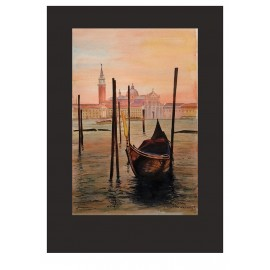 Obraz - Akvarel - Benátky - Ján Radvanský