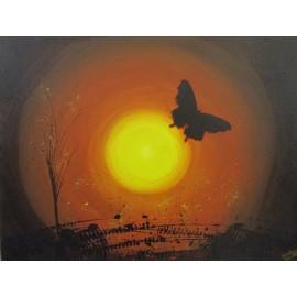 Obraz - Akryl - Butterfly - Silvia Lasák