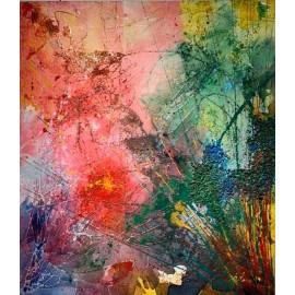 Obraz - Kombinovaná technika - Sparkle - Jelena Vušurović
