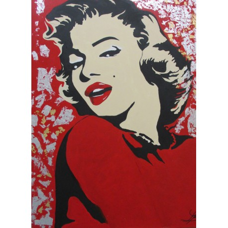 Obraz - Akryl -Marilyn Monroe POP-ART - Bejdová Sára