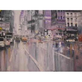 Obraz - Olejomaľba na plátne - New York 2 - Gregory Goy