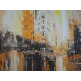 Obraz - Olejomaľba na plátne -Ulica v San Franciscu - Gregory Goy
