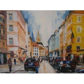Obraz - Olejomaľba na plátne -Nemecko - Gregory Goy