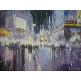 Obraz - Olejomaľba na plátne - New York 1 - Gregory Goy