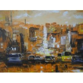 Obraz - Olejomaľba na plátne -San Francisco - Gregory Goy