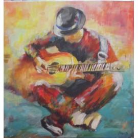 Obraz - Akryl na plátne - Pieseň - Ivónia Neveziová