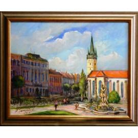 Obraz - Olejomaľba - Prešov - Neptún č.9 Prešov -* - Vladimír Semančík