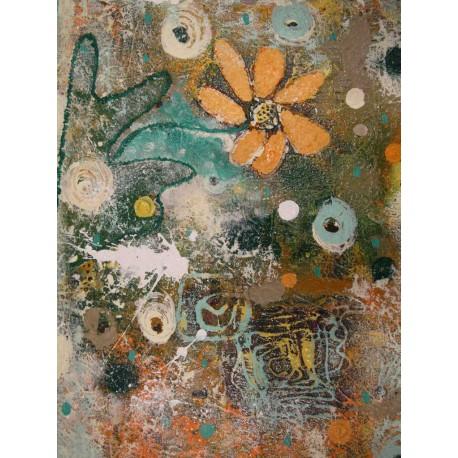 Abstrakt 6 - Ručne maľovaný obraz