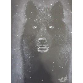 Obraz - T Wolf- Silvia Lasák