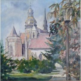 Obraz - Akryl - Dom sv. Alžbety - Mgr. Margita Rešovská