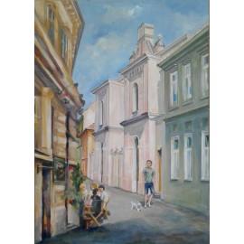 Obraz - Akryl - Na zvonárskej ulici - Mgr. Margita Rešovská