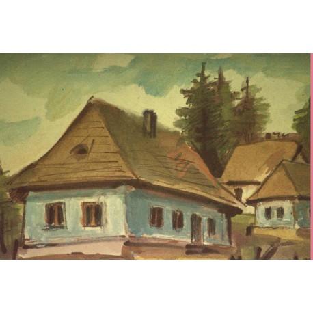 Obraz - Dedina 3