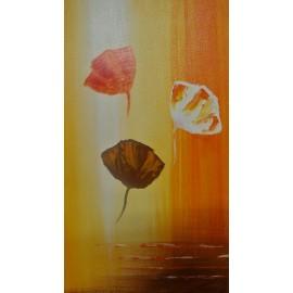 Obraz - Olejomaľba na plátne - Maky - PhDr. Katarína Semanová
