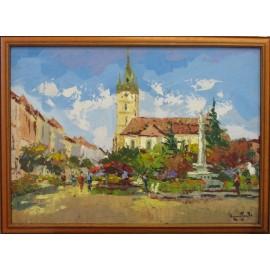 Obraz olej.na plátne -Prešov 1- Akad. mal. Varuzhan Aghamyan
