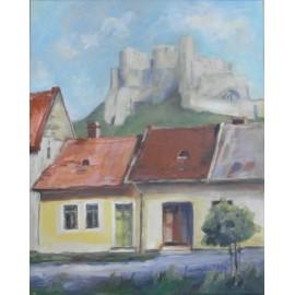 Obraz - Z historických Košíc