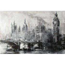 Obraz - Olejomaľba - Londýn v hmle - Igor Navrotskyi