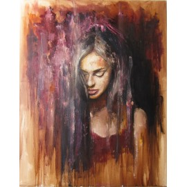 Obraz - Olejomaľba - Portrét dievčaťa - Igor Navrotskyi