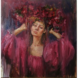Obraz - Olejomaľba - Červená - Igor Navrotskyi
