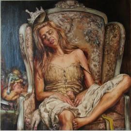 Obraz - Olejomaľba - Princezna Gluttonová, ktorá sa nechcela vydať - Igor Navrotskyi