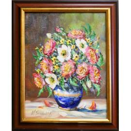 Obraz - Olejomaľba - Šípové ruže č.12 - Vladimír Semančík