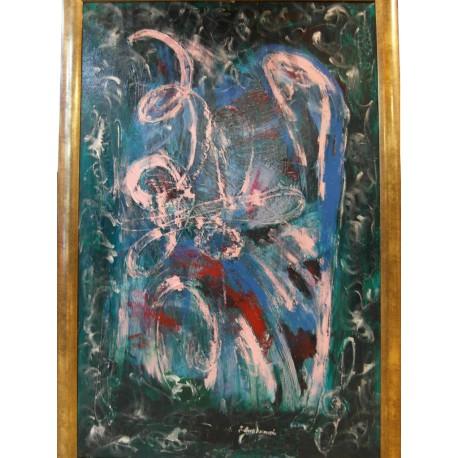 Abstrakt 5 - Ručne maľovaný obraz