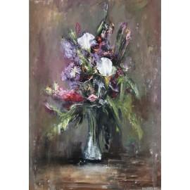 Obraz - Olejomaľba - Kvety vo váze, Igor Navrotskyi