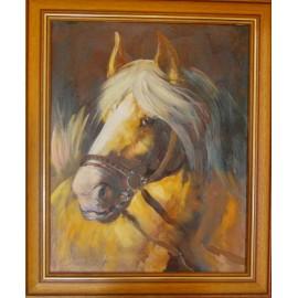 Obraz - Olejomaľba - Kôň č. 41 - Vladimír Semančík