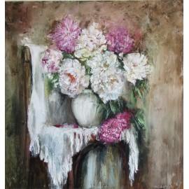 Obraz - Olejomaľba - Kytica kvetov II. - Igor Navrotskyi