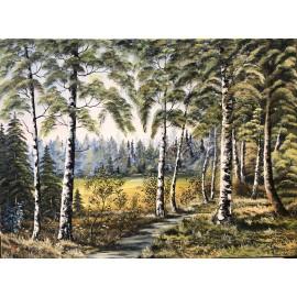 Obraz - Olejomaľba na plátne - Príroda XII. - Ján Lupčo