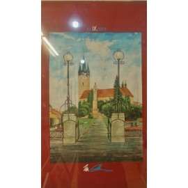 Obraz - Tempera - Kostol sv. Mikuláša 1. - Adam Miroslav