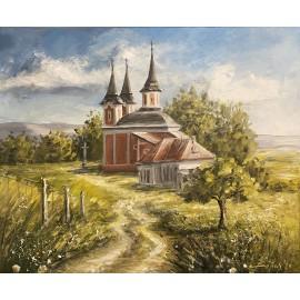 Obraz - Akryl na plátne - Kalvária - Baňas Matúš