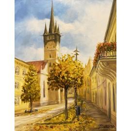 Obraz - Akryl na plátne - Konkatedrála Prešov - Baňas Matúš