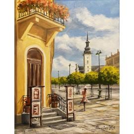 Obraz - Akryl na plátne - Verchovina - Baňas Matúš