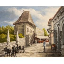 Obraz - Akryl na plátne - Bašta - Baňas Matúš