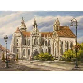 Obraz - akryl na plátne - Dóm sv. Alžbety - Baňas Matúš