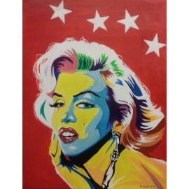 Obraz - Akryl - Marilyn Monroe- Attila Szabo