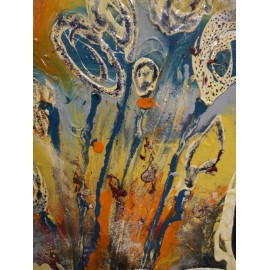 Obraz - Akryl na plátne - Abstrakt - Katarína Haraksimová