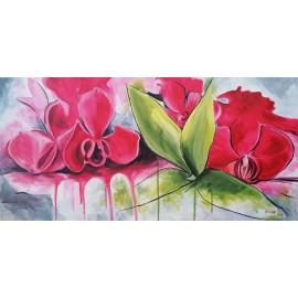 Obraz - Olejomaľba na plátne - ORCHIDEA - Anna Hirková