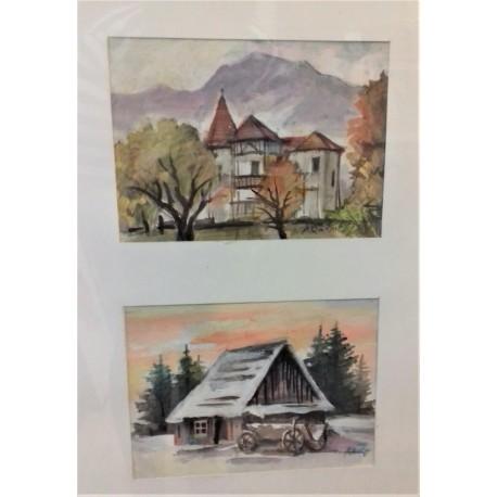 Obraz - Stavby v ročnom období