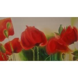 Obraz - Olejomaľba na plátne - Maky - Anna Hirková
