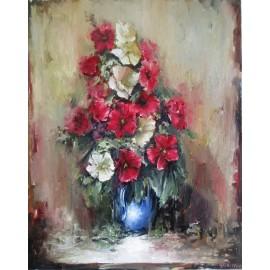 Obraz - Olejomaľba - Kytica kvetov III. - Igor Navrotskyi