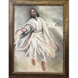 Obraz - Olejomaľba - Ježiš (č. 1) - Peter Treciak