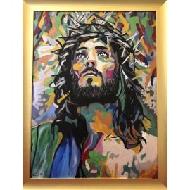 Obraz - Olejomaľba - Ježiš (č. 2) - Peter Treciak