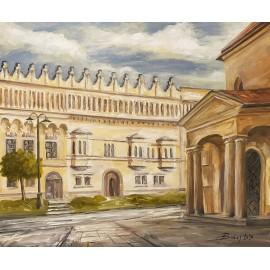 Obraz - Akryl na plátne - Rákoczyho palác - Baňas Matúš