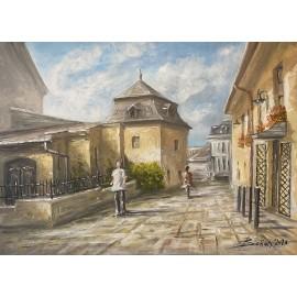 Obraz - Akryl na plátne - Kumšt - Baňas Matúš